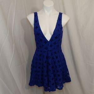 🎁Finn & Clover Lace mini dress sz M